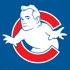 Bill Murray Cubs Goatbusters Logo Illustrations